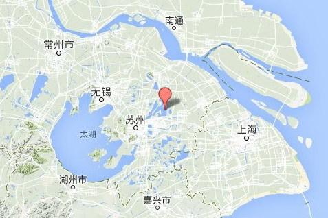 クリックするとGoogle地図を表示